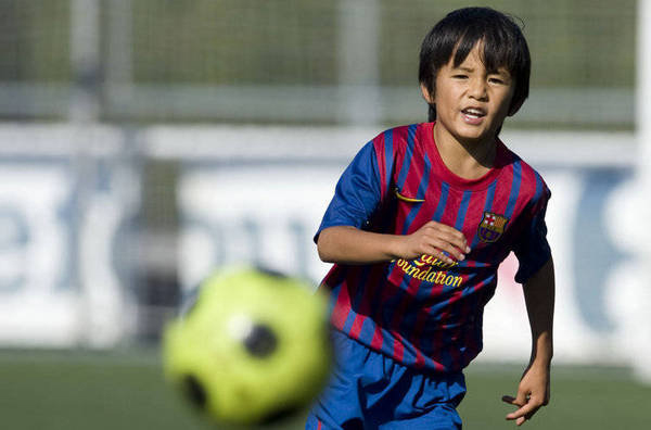 Takefusa Kubo : recruté par le Barça à 10 ans