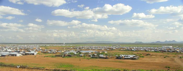 Le camp de Kakuma, premier décor du jeune Awer Mabil